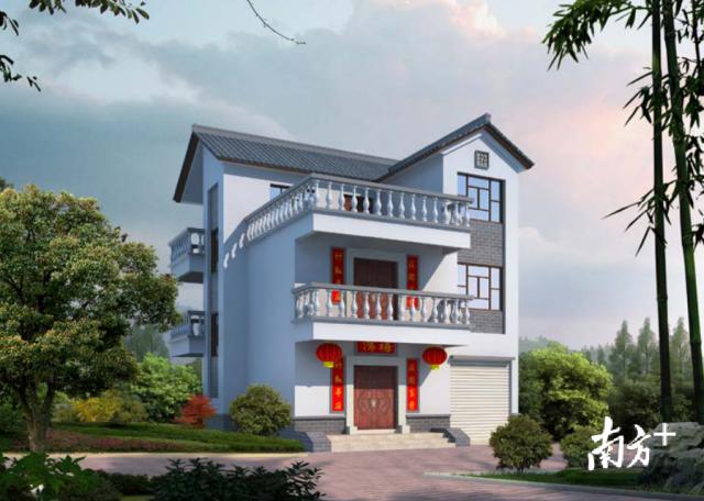 梅县区为村民免费提供《梅县区新农村客家民居》设计图纸。