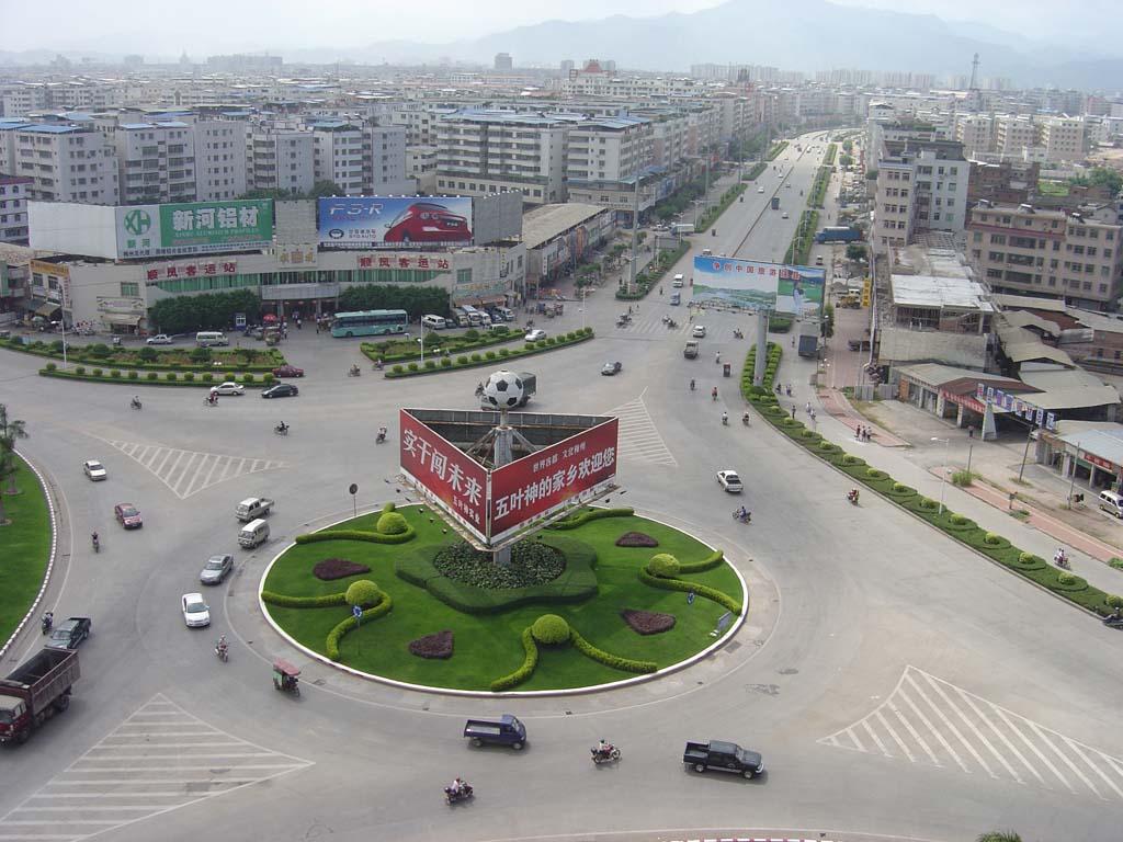 淀子桥圆盘公路图片