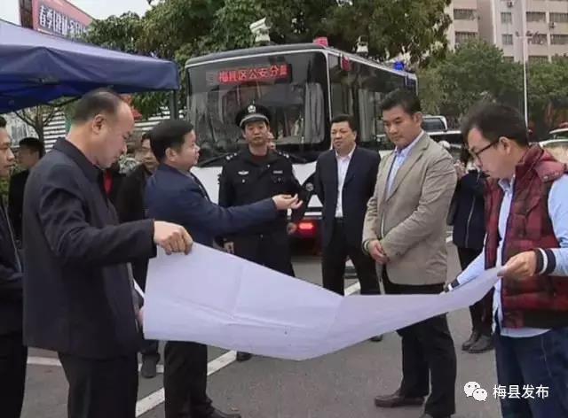 梅县区将建首座立交桥 缓解交通拥堵现状