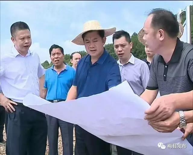 梅县区以优质的服务 加快推进项目建设