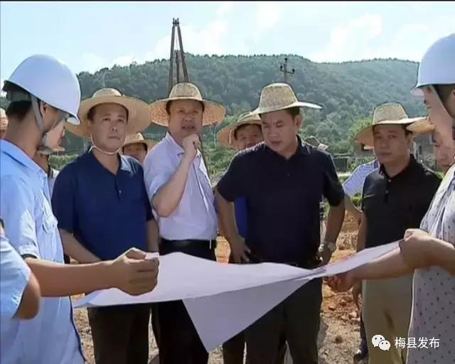 梅县区:加快项目建设 提升城市形象