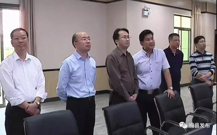 刘棕会率队到梅县区调研广梅产业园建设工作:共建宜居宜业的产业新城 绿色新城